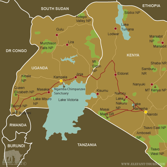 Map Kenya-and-Uganda-Explorer