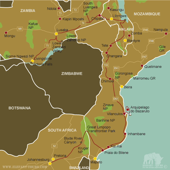 Map Explore-Zambia-Malawi-and-Mozambique