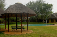 The pool at Satara rest camp
